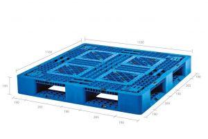 Pallet de Plástico SB 22 Azul