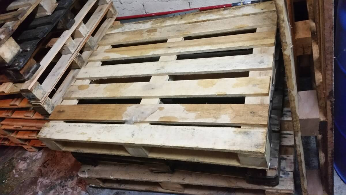 paletes de madeira usados porque usar