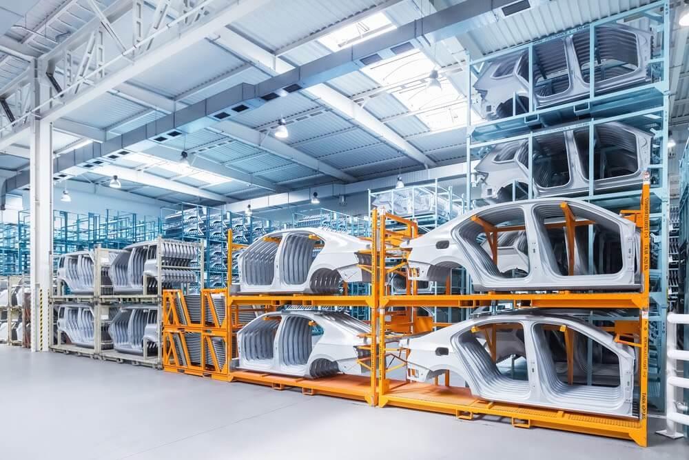 Usos dos pallets de aço pelas indústrias