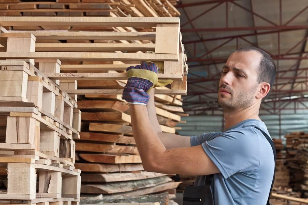 Pallets de madeira podem ser utilizados na indústria alimentícia?