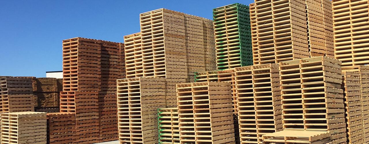 Quais setores da economia mais usam paletes de madeira?