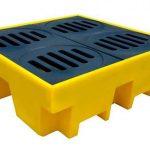 Armazenamento de materiais perigosos: qual a importância dos pallets de contenção?